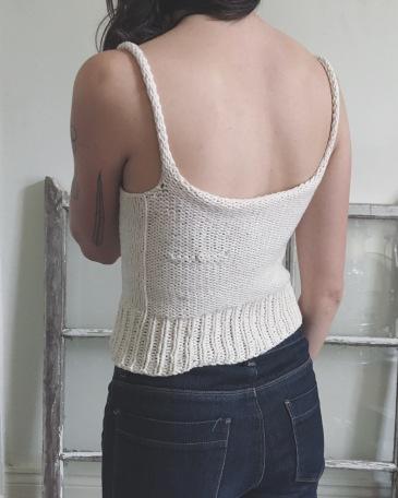 free tank top knitting pattern