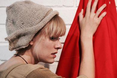 knit flapper hat 2